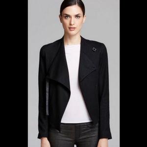 Helmut Lang Asymmetrical Black Blazer